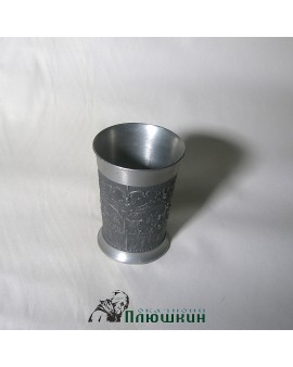 METAL WINE CUPS (SET)