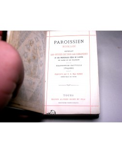 OLD BOOKS IN FRENCH & LATIN