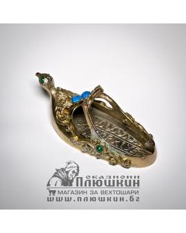 Shoe shaped ashtray