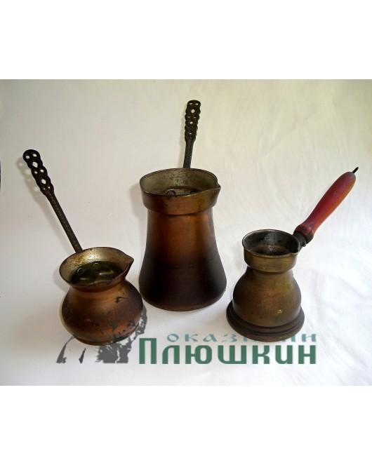 Copper pots set